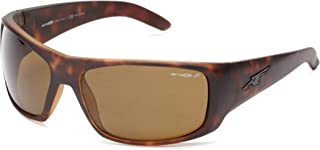 Arnette Men's AN4179 La Pistola Rectangular Wrap Sunglasses