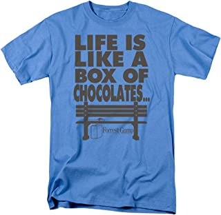 Forrest Gump Romance Comedy Drama Movie Box of Chocolates Adult T-Shirt Tee