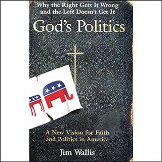 God's Politics audiobook cover art