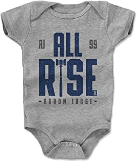 500 LEVEL Aaron Judge Baby Clothes & Onesie (3-6, 6-12, 12-18, 18-24 Months) - New York Baseball Baby Clothes - Aaron Judge Rise