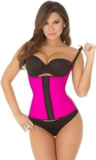 Rene Rofe Women's Adjustable Strap Waist Cincher Pink