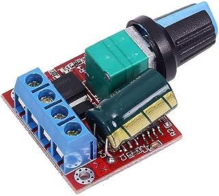 Xsentuals DC 5V 6V 9V 12V 24V 5A PWM DC Motor Speed Controller Regulator Switch LED Dimmer DC 5V-35V 20khz LED