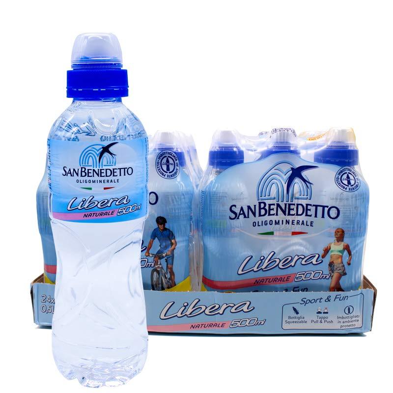 圣碧涛(San Benedetto)天然矿泉水运动装500ml*24瓶(2018年5月生产)