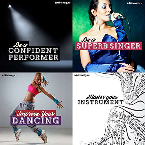 The Performer's Subliminal Messages Bundle audiobook cover art