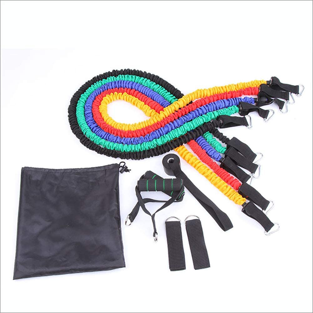 Phoenix Mall WYYHAA 11PCS Resistance Bands Set Department store 5 Workout Exercise with