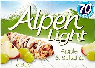 Alpen Bares Jaffacake De Luz 5 X 19g (Paquete de 6)