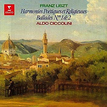 Liszt: Harmonies poétiques et religieuses & Ballades