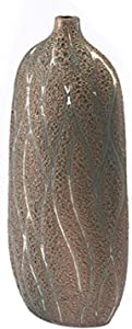 Zuo Lava Vase (Large), Brown & Green