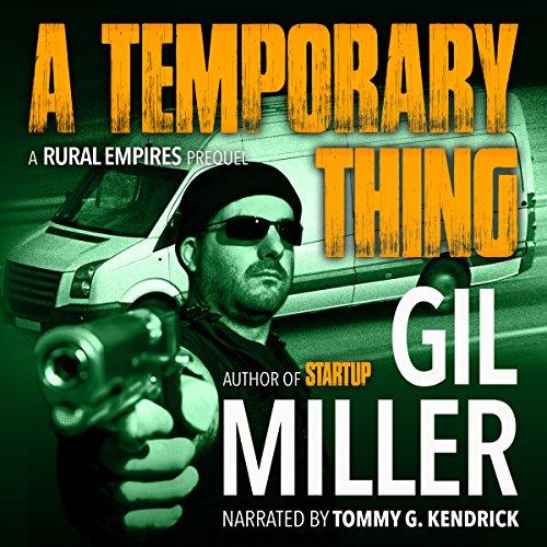 A Temporary Thing audiobook cover art