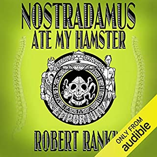 Nostradamus Ate My Hamster audiobook cover art