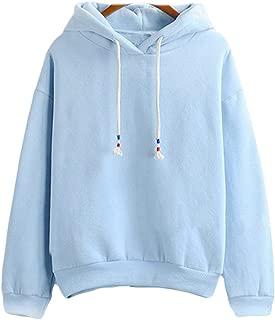 2017 Harajuku Pastel Baby Blue Candy Color Hoodies Sweatshirts