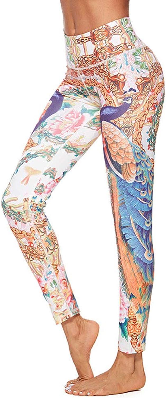 reputable site 40498 9e420 Sports Hip Leggings Print Digital Pants Yoga Women's Pants ...