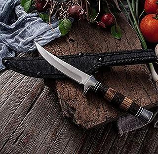 Couteau Couteau polyvalent en acier inoxydable Couteau de cuisine Couteau à la viande Couteau droit à la maison Couteau à ...