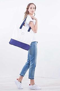 Bags Bolsa de Tela y Playa, 43 cm, 13 Liters, Blanco (Bright White)