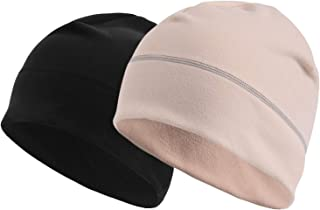 AXBXCX Warm Beanie Hat Soft Skull Cap Stretchy Helmet Liners Unisex Various Styles