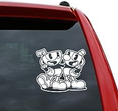 Cuphead DevilS Brew Logo Sticker Vinyl Decal Wall Laptop Window Car Bumper Sticker 5
