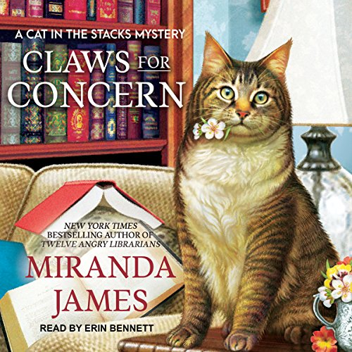 Claws for Concern audiobook cover art