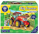 Hello Kitty Orchard Toys - Puzzle Big Tractor