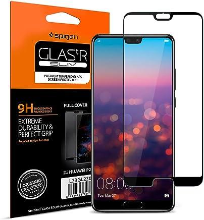 Spigen, Vetro Temperato Compatibile con Huawei P20 PRO, [Copertura Completa], Pellicola Protettiva P20 PRO, [Edge to Edge], Protezione per Schermo Huawei P20 PRO (L23GL23082)