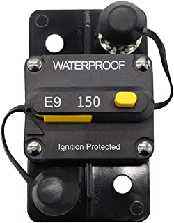 150 Amp Manual Reset Circuit Breaker 12V/24V Boat Accessory Trolling Motor