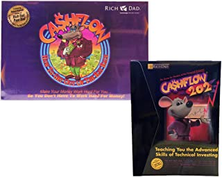 Rich Dad CashFlow 101 + 202 Board Game by