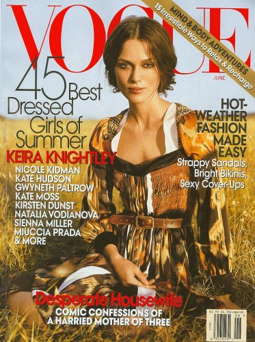 Vogue Magazine (June,2007) Keira Knightley Cover