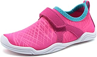 Boy and Girls Athletic Water Shoes Quick-Dry Slip on Aqua...