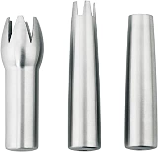 iSi  271701 Heavy Duty Presentation Decorator Tips for iSi Gourmet Whippers, Set of 3, Stainless Steel