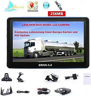 comprar comparacion GPS DRIVE-7.0 de 7 pulgadas HD camiones, coche, autobús, una autocaravana. Europa nuevos mapas 2020.