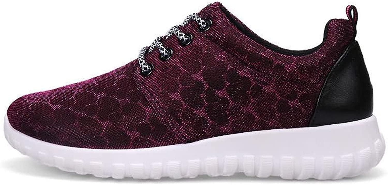Battle Men Women's Athletic shoes Hidden Heel Lace Up Leisure shoes Fashion (color   Purple, Size   3 D(M) US Little Kid)