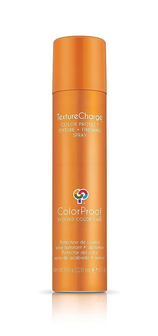 露出度の高いブローブルームColorProof Evolved Color Care ColorProof色ケア当局テクスチャチャージ色&保護仕上げスプレー、6.7オズ オレンジ