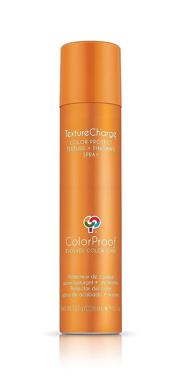 楽観的傷つきやすい再びColorProof Evolved Color Care ColorProof色ケア当局テクスチャチャージ色&保護仕上げスプレー、6.7オズ オレンジ