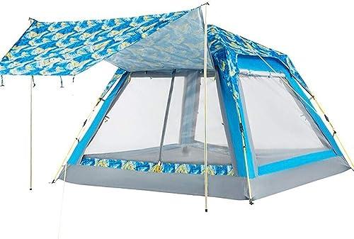Anat Tente de randonnée légère avec Empreinte de Pas - Tente 4 Saisons de Camping Debout Libre pour randonnées pédestres