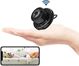 Fivota Mini Camera, WiFi Home Security Hidden Camera, Nanny Camcorder with 2 Way Audio Motion Detection Night Vision, Portable Indoor/Outdoor Video Recorder