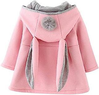 Mantel Jacke Baby S/äuglingsm/ädchen Wollmantel Kapuzenjacke Strickmantel Winterjacke Winter Warme Starke Warme Kleidung Cardigan Mantel Baby Prinzessin Spitze Elegant