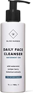 BLIND BARBER 【デイリーフェイスクレンザー】〔洗顔〕自然由来の抗菌作用でさっぱり カミソリ負け 毛穴をケアする 大人のプレミアム洗顔料