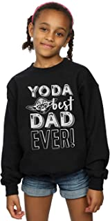 Star Wars Girls Yoda Best Dad Sweatshirt