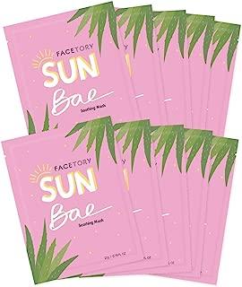 FaceTory Sun Bae Aloe Vera Soothing Sheet Mask (Pack of 10)