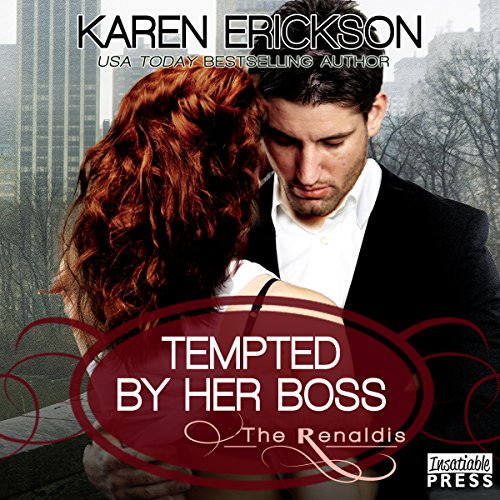 Tempted by Her Boss audiobook cover art