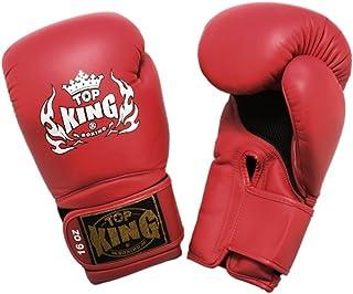 "Top King "" Super Air ""タイ式ボクシングgloves-tkbgsa-red-333"