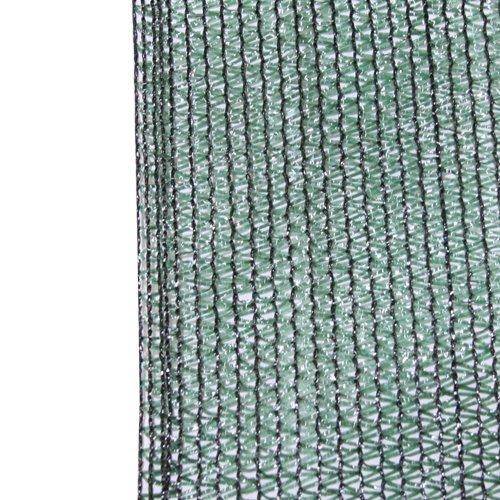 Zaunblende 65%, 70 gr/m² in 1,56x5m Breite mit Sichtschutzgewebe Zaunsichtschutz Sonnenschutznetz Schattierungsgewebe