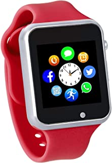 Smart Watch for Kids with Pedometer Bluetooth Unlocked 2G GSM Phone Call 1.54 Inch Touchscreen Camera