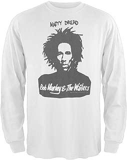 Bob Marley - Mens Natty Wailers Thermal Long Sleeve T-Shirt