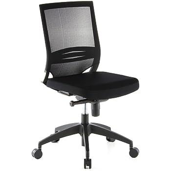 Bürodrehstuhl ohne Armlehne