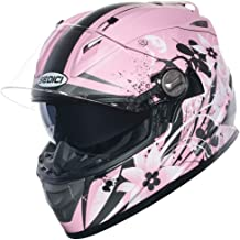 SEDICI Women's Strada Carino Full-Face Motorcycle Helmet - MD, Matte Pink