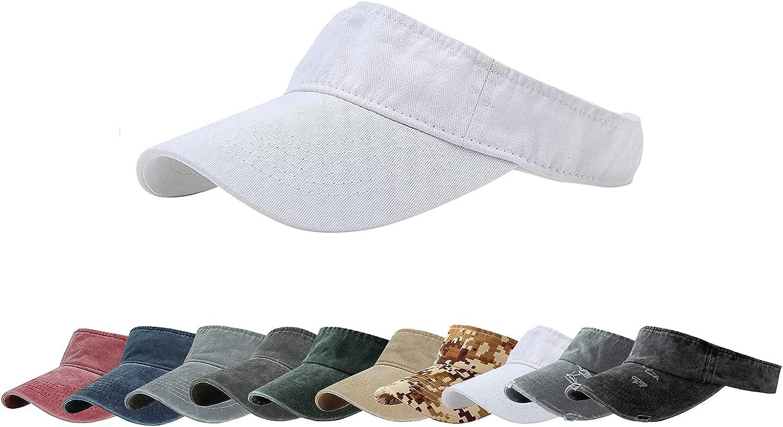 ANDICEQY Max 56% OFF Max 87% OFF Sport Sun Visor Hats Cap Empty Adjustable Baseball Top