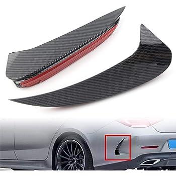 GLE350 GLE450 GLE53 Binchil Carbon Fiber Pattern Front Bumper Splitter Spoiler Decorative Cover for GLE V167 2020