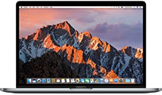 Apple MacBook Pro Touch Bar & Touch ID MPTT2 Laptop - IntelCorei7, 2.9 Ghz QuadCore, 15-Inch, 512GB SSD, 16GB, 4GB VGA-Radeon Pro560, English Keyboard, MacOS Sierra, Space Gray - International Version