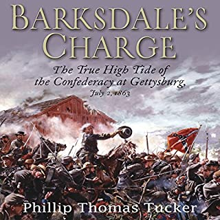 Barksdale's Charge audiobook cover art