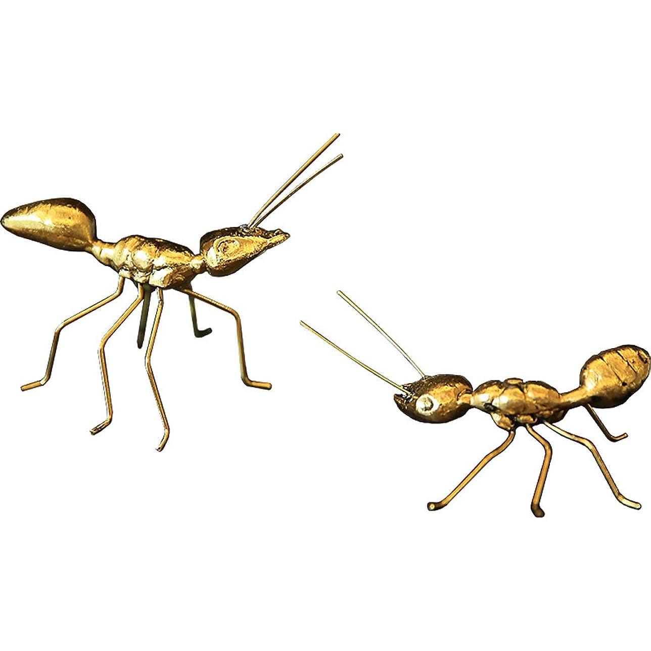規定執着の間でGWM 現代の創造的な蟻の装飾のモデルの家の居間の研究銅の装飾のデスクトップの小さな装飾品